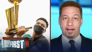 'Giannis will be unstoppable' — Broussard on future of the Greek Freak | NBA | FIRST THINGS FIRST