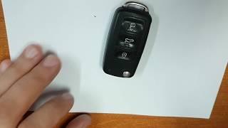 Výmena batérie auto kľúč superb 2