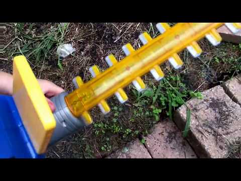 Just like home workshop power hedge trimmer review