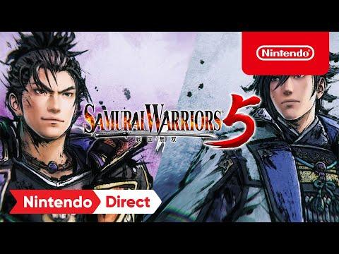 Trailer découverte (Nintendo Direct du 17 février 2021) de Samurai Warriors 5