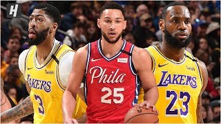 Los Angeles Lakers vs Philadelphia 76ers - Full Game Highlights | January 25, 2020 | 2019-20 Season