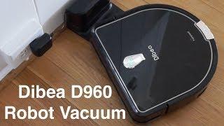 Dibea D960 Robotic Vacuum Cleaner