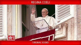 Pope Francis - Recitation of the Regina Coeli prayer 2019-05-19