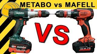 METABO vs MAFELL - WELCHER IST DER BESTE AKKUSCHRAUBER? | WERKZEUG NEWS #36