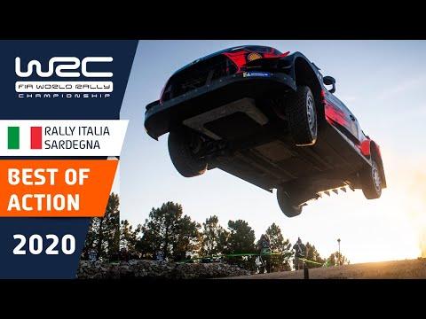 WRC ラリー・イタリア・サルディニア のラリーのベストアクションをたったの1分にまとめたダイジェスト映像