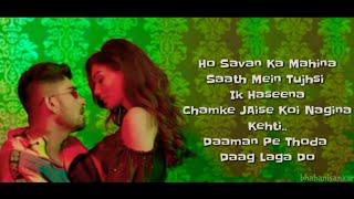 SAVAN Full Song With Lyrics Addy Nagar & Kriti   - YouTube