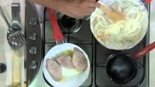 Tu cocina - Chuletas de cerdo con salsa de cebolla