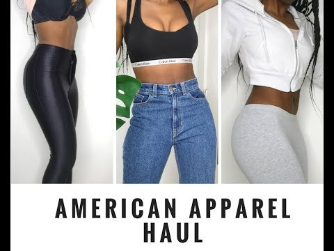 AMERICAN APPAREL TRY ON HAUL 2018 – is it good anymore?