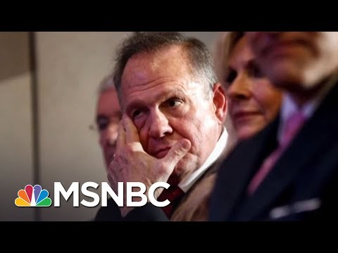Roy Moore Leads In Poll Despite Sexual Abuse Allegations | AM Joy | MSNBC