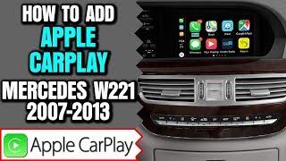 Mercedes W221 2007-2013 S-Class CarPlay
