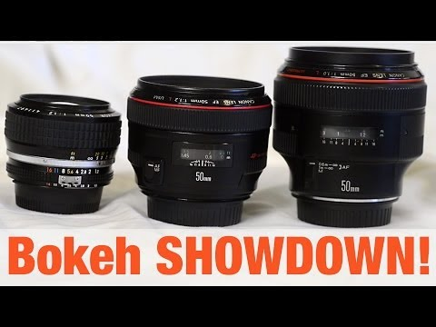 50mm f1.0 vs 1.2 - Bokeh SHOWDOWN!