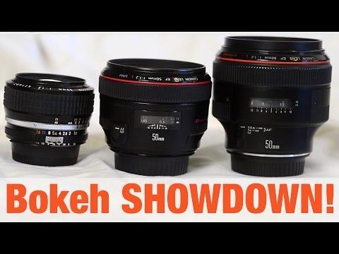 50mm f1.0 vs 1.2 - Bokeh SHOWDOWN!