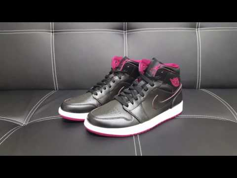 NIKE Air Jordan 1 Black/Red Sneaker DEUTSCH l Review l On Feet l Overview l Haul l Outlet46.de