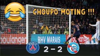 PSG Vs Strasbourg (2-2) - CHOUPO MOTING, Le Plus Gros RATÉ De L'histoire ?!