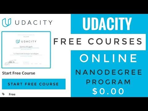 Udacity Free Courses | Free Certificates | Lockdown 2.0 - YouTube