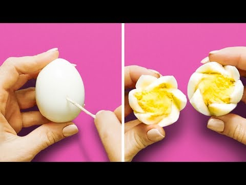 14 EGG TRICKS AND RECIPES