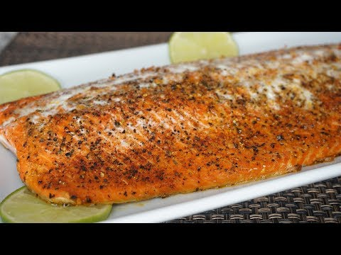 How to Make Oven Baked Salmon-The Best Salmon Recipe