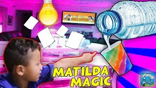 ANTHONY'S MATILDA MAGIC MAKES THE HOUSE COME TO LIFE! DINGLE HOPPERZ