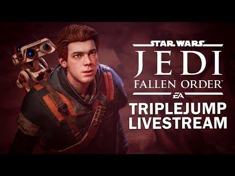 Star Wars Jedi: Fallen Order - MY STAR WARMS KNOWLEDGE | TripleJump Live