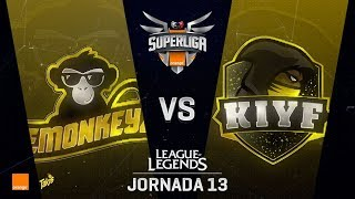 EMONKEYZ VS KIYF | Superliga Orange J13 | Partido 1 | Split Verano [2018]