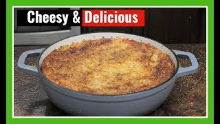 The Ultimate Five Cheese Macaroni and Cheese | Crofton Dutch Oven