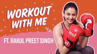 Rakul Preet Singhs Hardcore Fitness Tips, Rigorous Exercise Routine | Weight Loss | Workout With Me