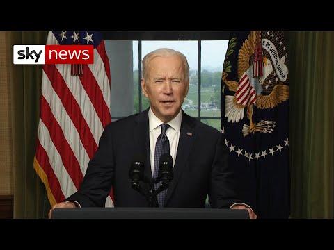 Biden: It's time to end America's longest war