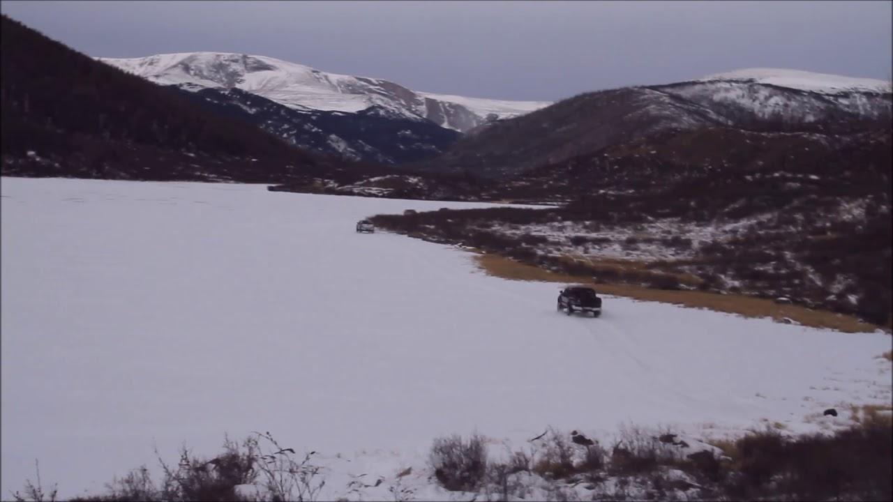 Kherkhruu three lakes