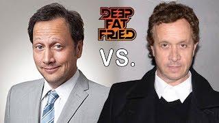 ROB SCHNEIDER vs. PAULY SHORE = DEEP FAT FRIED