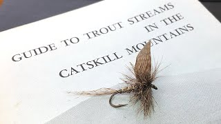 Old March Brown Dry Fly Tying Tutorial - Mystery Fly Book Series