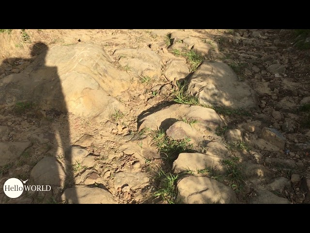 Wie steinig ist steinig? 20 Sekunden vermitteln einen Eindruck.