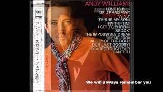 andy williams original album collection You've Got a Friend