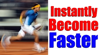 How To Instantly Become Faster On Court - Tennis Movement