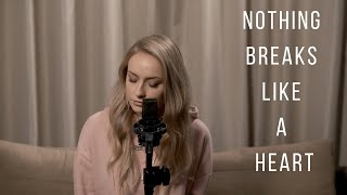 Mark Ronson ft. Miley Cyrus - Nothing Breaks Like a Heart | Monica Bejenaru | cover