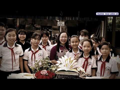 Trường THCS Đông Hồ | Họp mặt kỷ niệm 38 năm ngày Nhà giáo Việt Nam 20.11.2020