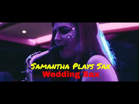 Samantha Plays Sax Video