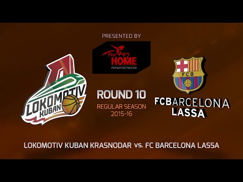 Highlights: RS Round 10, Lokomotiv Kuban Krasnodar 78-74 FC Barcelona Regal