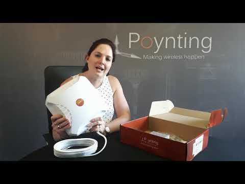 Poynting XPOL-2-5G MIMO Antenna unboxing