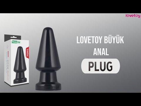 Lovetoy Büyük Anal Plug LV2241