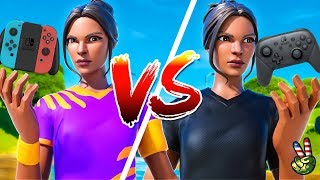 FASTEST 90s ON FORTNITE NINTENDO SWITCH! (YouTubers)