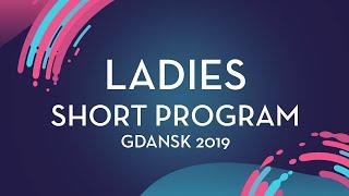 Anais Coraducci (SUI) | Ladies Short Program | Gdansk 2019