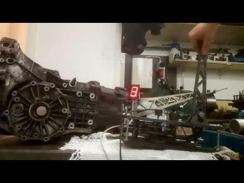 Audi 01E sequential shifter first proto - смотреть онлайн на