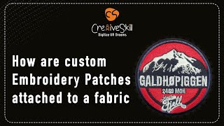 Custom Embroidery Work On Fabric By Cre8iveSkill