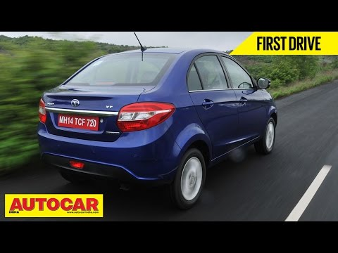 2014 Tata Zest Compact Sedan Petrol & Diesel AMT | First Drive Video Review