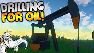 """ECO Multiplayer Gameplay - """"PUMP JACK AND OIL REFINERY!!!"""" Walkthrough Let"""