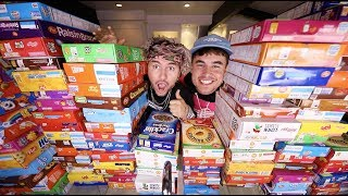 We Bought EVERY Brand Of Cereal In The STORE
