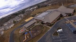 FPV Drone Limbo at Salvation Army   Magic Mo
