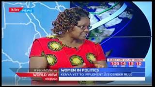World View: Women in politics