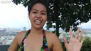 BEAUTIFUL THAILAND LADY IN MY HOTEL | Vlog 37 | Muay Thai Lessons, Exploring Streets | Pattaya 2018