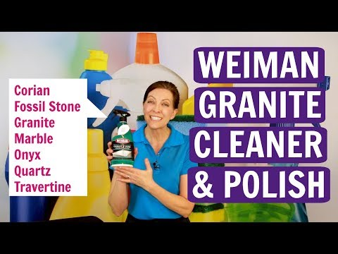 How to Clean Granite and Marble with Weiman Cleaner and Polish (Product Review)